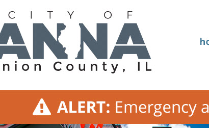 City of Anna website alert system